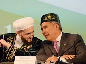 Муфтий Камиль хазрат Самигуллин поздравил Президента РТ с юбилеем