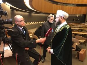 Муфтий Камиль хазрат Самигуллин дал интервью крупнейшей религиозной медиа-сети в мире EWTN