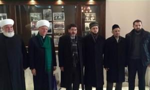 Муфтий РТ находится с официальным визитом в Сирии