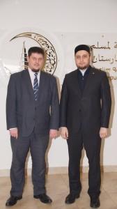 ДУМ РТ посетил муфтий Пермского края Ильхам хазрат Бибарсов