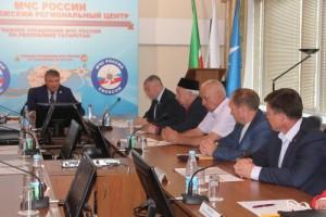 Рустам хазрат Хайруллин принял участие в работе заседания Совета МЧС РФ по РТ