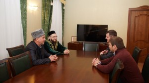 Kamil hazrat Samigullin met with the mufti of Mordovia