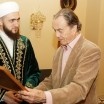 Mufti of Tatarstan met with the chairman of presidium of the International council of Russian compatriots Peter Sheremetev