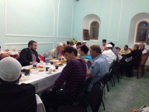 "CF ""Zakat"" held the evening breaking of fast at Apanaevskaya mosque"