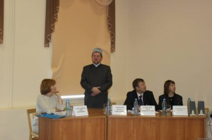 Deputy mufti attended the national conference on social issues affecting society