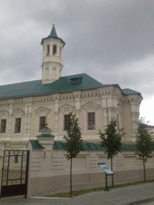 In Apanaevskaya mosque works a day camp for girls