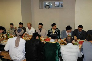 "In mosque ""Gailya"" was held iftar with the participation of mufti of RT"