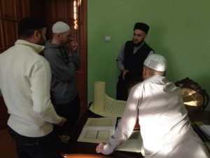 In MRB RT has been coordinated with the mufti the calligraphic style for the Holy Quran