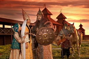 In old Kazan will sound folk melodies