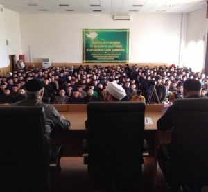 Kamil Samigullin addressed the Chechen students