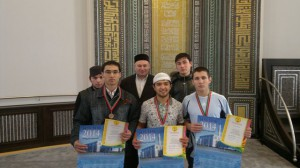 Kazan Muslim youth competed in game in drafts