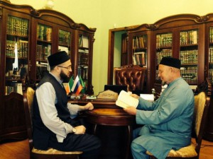 Mufti of Tatarstan discussed with the Chief Kazi of RT questions of development of Islam