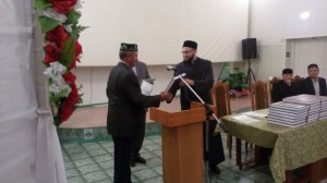 Mufti of Tatarstan made a working visit to Alkeyevsky district