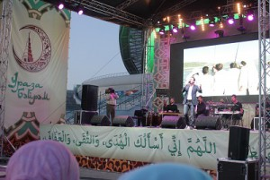 On charitable concert of MRB RT gathered thousands of people