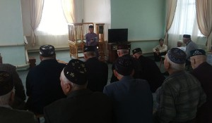 The day of older people was held in Cheremshanskaya mosque