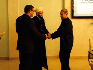 The Mufti of Tatarstan handed the first certificates of advanced training to imams of VFD