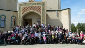 To disabled of Nizhnekamsk Central mosque presented a gift