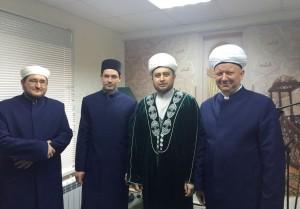 Рөстәм хәзрәт Мәскәү мөфтиятендә булды